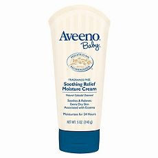 Aveeno Baby Soothing Relief Moisture Cream, 5 oz