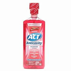 Act Alcohol Free Anticavity Fluoride Rinse, Cinn.