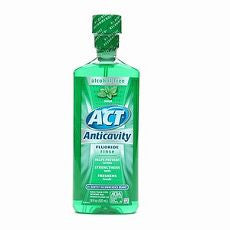Act Alcohol Free Anticavity Fluoride Rinse, Mint