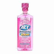 Act Alcohol Free Anticavity Fluoride Rinse Kids