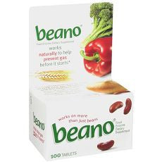 Beano Food Enzyme Dietary Supplement, Tablets 100 - OutpatientMD.com