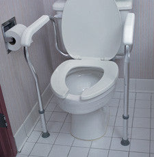 Toilet Safety Rail Adjustable - OutpatientMD.com