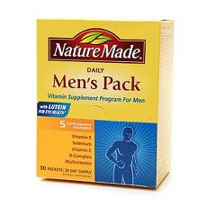 Nature Made Daily Men's Pack, Vitamin Supplement - OutpatientMD.com