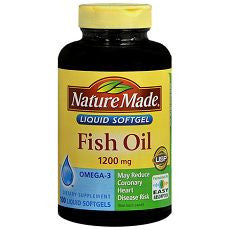 Omega-3 Fish Oil 1200mg Maximum Strength Softgels