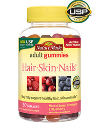 Hair Skin and Nails Adult Gummies 90 count