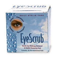 Eye Scrub Sterile Eye Makeup Remover & Cleaner - OutpatientMD.com