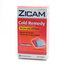 Zicam Cold Remedy Homeopathic Chewables Strawberry - OutpatientMD.com