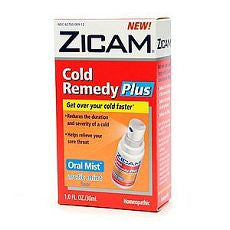 Zicam Cold Remedy Plus Oral Mist, Arctic Mint 1 oz - OutpatientMD.com
