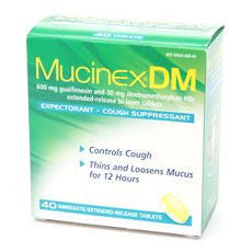 MucinexDM Expectorant, Cough Suppressant, 600 mg - OutpatientMD.com