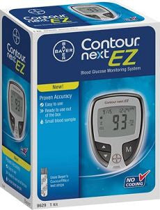 BAYER CONTOUR® NEXT EZ BLOOD GLUCOSE MONITOR - OutpatientMD.com