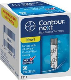 BAYER CONTOUR® NEXT EZ Test Strips 50ea - OutpatientMD.com