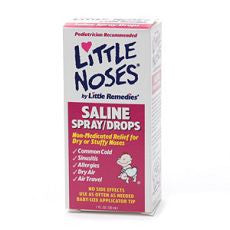 Little Noses Saline Spray/Drops, Non-Medicated - OutpatientMD.com