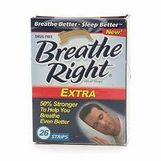 Breathe Right Extra Strength Nasal Strip 26 ea - OutpatientMD.com