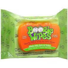 Boogie Wipes Gentle Saline Wipes, Fresh Scent 30ea - OutpatientMD.com