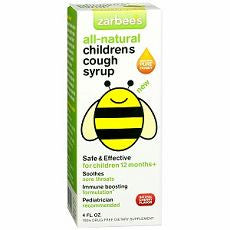 ZarBee's All-Natural Children's Cough Syrup,Cherry - OutpatientMD.com