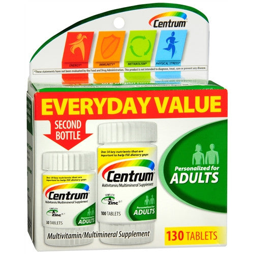 Centrum Multivitamin/Multimineral Supplement - OutpatientMD.com