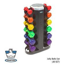 Jellybells Dumbbell Set with Rack