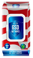 Wipes Antibacterial 80 pack