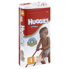 "Huggies ""Snug & Dry"" Diapers Size: 4 24's - OutpatientMD.com"