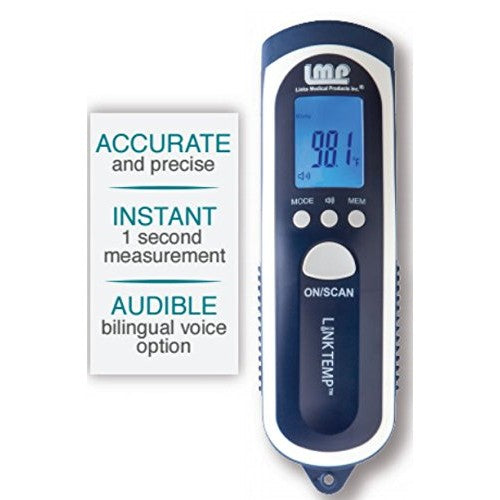 LINKTEMP™ Non-Contact Infrared Thermometer - OutpatientMD.com