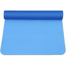 Workout Mat Rollup Blue - OutpatientMD.com