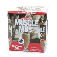 Muscle Milk Shake, Chocolate Milk 11oz