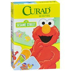 "Band Aid Strip Sesame Street 3/4"" x 3"", 100 ea"