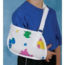 Arm Sling Pediatric with Fun Print - OutpatientMD.com