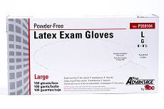 Glove Exam Latex Large