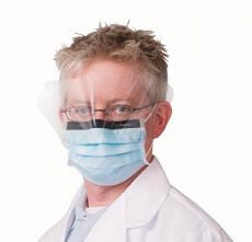 Facemask, Procedure, Earloop w/ shield, Anti-Fog - OutpatientMD.com