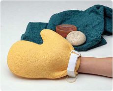 Mitt Wash Sponge with Velcro - OutpatientMD.com