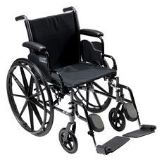 "Wheelchair Sport 18"" with Elevating Leg Rests - OutpatientMD.com"