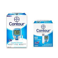 Contour Blood Glucose Meter & Test Strip Combo