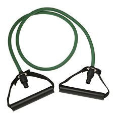 Resistance Band Light Resistance Green w/ Handles - OutpatientMD.com