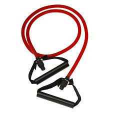 Resistance Band Medium Red with Handles - OutpatientMD.com
