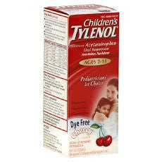 Tylenol Children's Oral Suspension 4oz Cherry