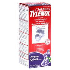 Tylenol Children's Oral Suspension 4oz Grape - OutpatientMD.com