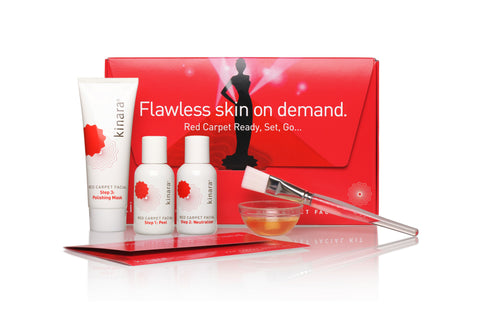 Kinara Red Carpet Facial Kit MyBeautyAvenue
