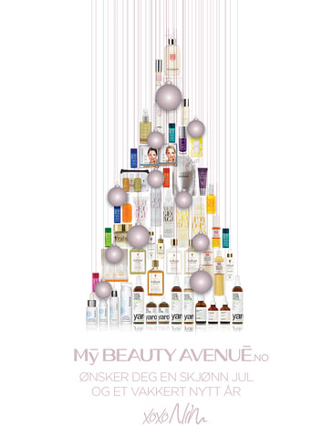 God Jul fra MyBeautyAvenue