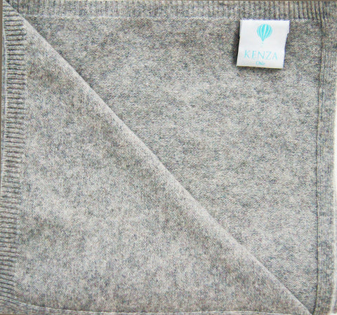 Baby Kenza Cashmere Blanket - Dusty Grey