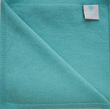 Baby Kenza Cashmere Blanket - Mint Green