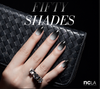 NCLA Fifty Shades - Nail Wraps