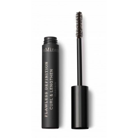 bareMinerals Øyne FLAWLESS DEFINITION CURL & LENGTHEN MASCARA SORT