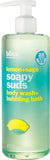 Bliss Bath & Body Lemon+Sage Soapy Suds Body Wash + Bubbling Bath