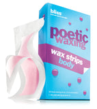 Bliss Bath & Body Poetic Waxing Wax Strips Body