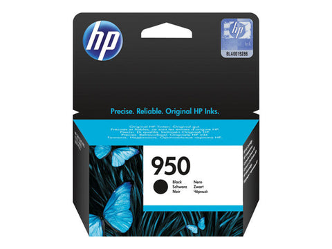HP 950 - 24 ml - black - original - ink cartridge - for Officejet Pro 251dw, 276dw, 8100, 8600, 8600 N911a, 8610, 8615, 8616, 8620, 8625, 8630