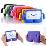 3D Cartoon Kids Friendly  Soft Thick Foam Shockproof Case for Samsung Galaxy Tab 3 4 7.0 P3200 T210 T230 T110 Stand Cover