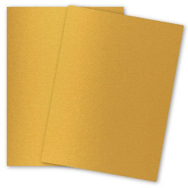 Gold Metallic Text  Paper (10 sheets)