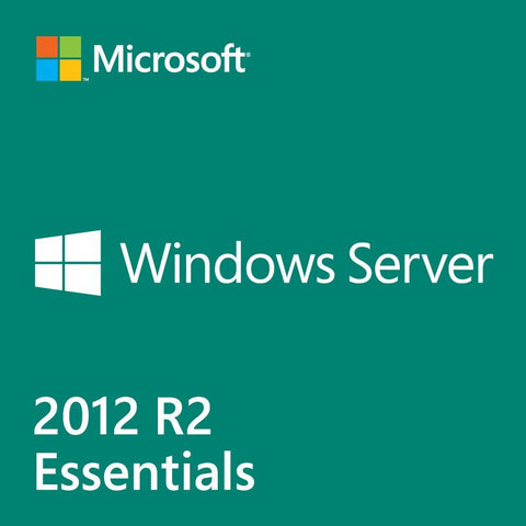 Microsoft Windows Server 2012 R2 Essentials - License - 1 server (1-2 CPU), up to 25 users