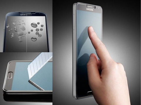 Samsung Galaxy Note 3 N900 Clear Tempered Glass Screen Protector